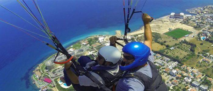 Zypern Urlaub Paragliding 1