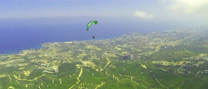 Zypern Urlaub Paragliding 2