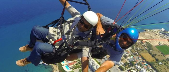 Zypern Urlaub Paragliding 3