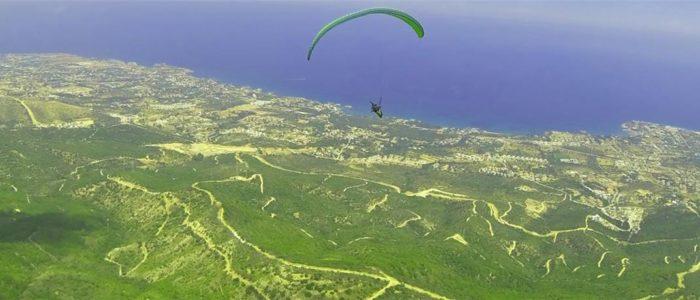 Zypern Urlaub Paragliding 4