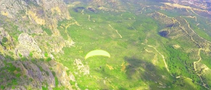 Zypern Urlaub Paragliding 5